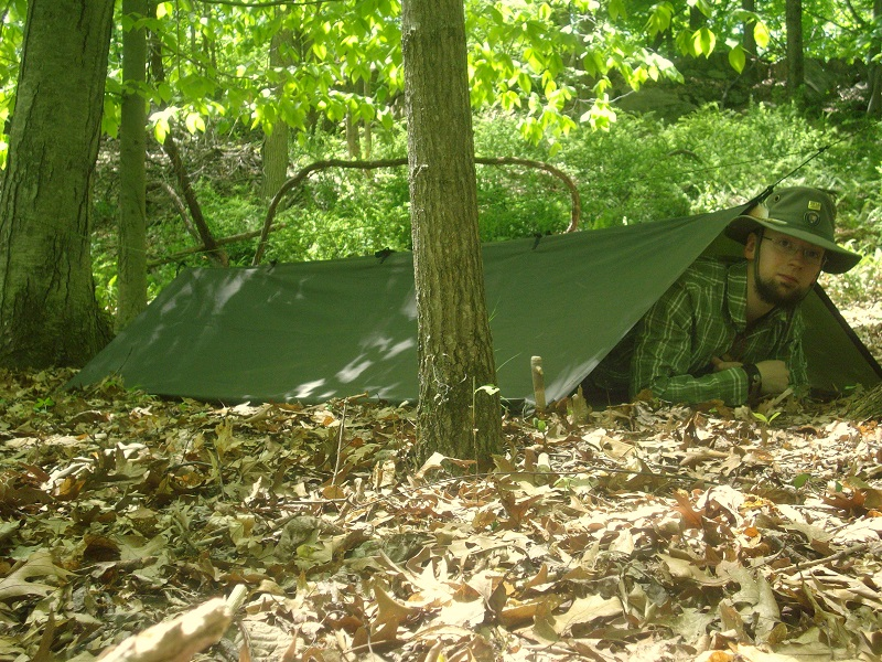 This configuration is based on the old US military pup tents used in WWII Korea and Viet Nam. Each soldier was issued a shelter half two of which when ... & 7 Tarp Shelters u2013 The Untrammeled Wild